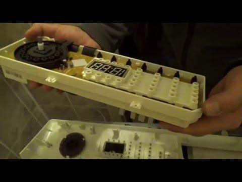 Ремонт блока управления DC92-00181 M в стиральной машине Samsung WF0500NYW