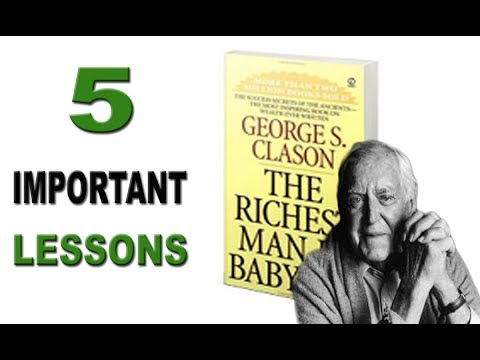 The Richest Man in The Babylon   5 Most Important Lessons   George S. Clason (Audiobook)