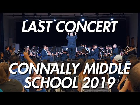 Connally Middle School Last Concert of 2019