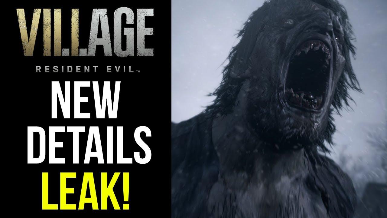 Resident Evil Village Release Date Leaked In Capcom Data