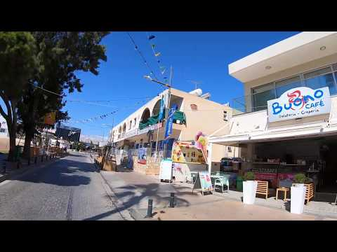 Drive to Ayia Napa Center from Protaras Road 4k GoPro
