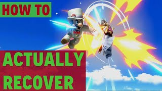 How to Recover Better - Smash Ultimate