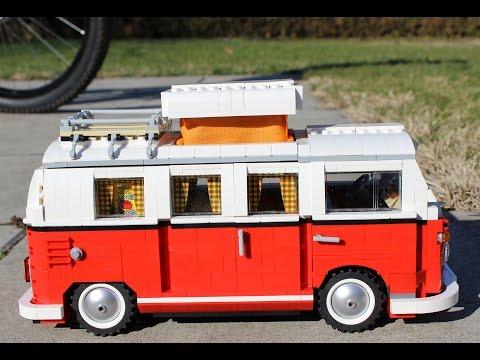 """LEGO Creator 10220 Volkswagen T1 """"Bulli"""" Camper Van - Unboxing & Speed Build"""