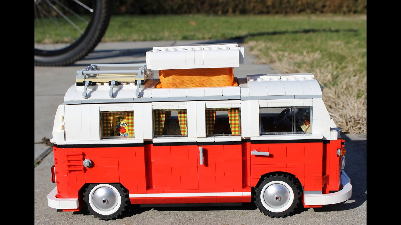 lego creator 10220 volkswagen t1 bulli camper van. Black Bedroom Furniture Sets. Home Design Ideas