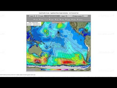 Stormsurf Video Surf and El Nino Forecast for Sun (10/4/15)