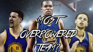 Why KD Going to The Warriors Was a Smart Move! - Most Overpowered NBA Team?! | 2 Legend 5's Gameplay
