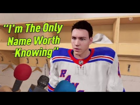 NHL 21 Be A Pro Part 8   Told The Media I Was Better Than Lafreniere