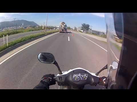 Sym Orbit2 50cc istanbul-izmir uzun yol (ses bozulmuş kusura bakmayın.)
