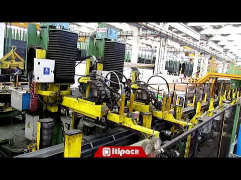 Automatic strapping equipment for tube industry