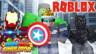 ROBLOX-SUPER HERO CAPTAIN AMERICA BRINGS RAPE DAUGHTER 💥 Superhero Simulator