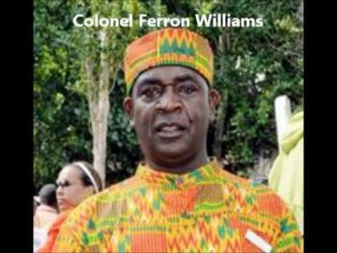 Jamaican Maroons - interview Col. Ferron Williams 17/10/12