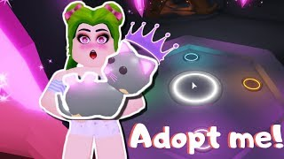 🐱 GET MY FIRST AMAZING NEON PET ADOPT ME🐈- ROBLOX