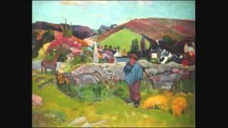 Hugues Cuénod sings Chabrier - Pastorale des cochons roses (text: Edmond Rostand)