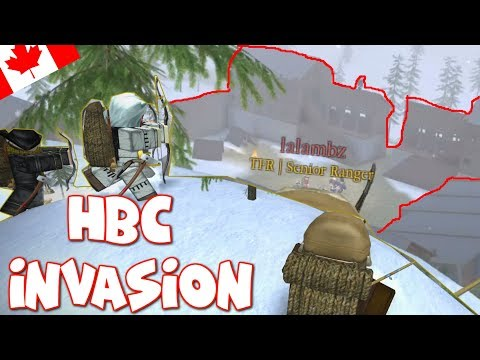 Whoops sorry and Invading the HBC |Roblox Northern frontier (funny moments) ep.11