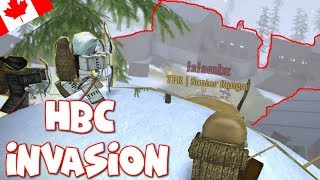 Whoops sorry and Invading the HBC | Roblox Northern frontier (funny moments) ep.11