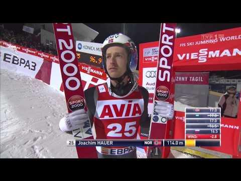 Skoki narciarskie 20142015, Niżny Tagił , 14.12.2014 seria 1