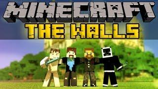 Лазуритный гном, Евгеха и Свордкипер - Minecraft The Walls - Mini-Game