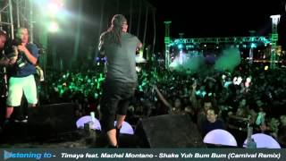 Tribe Ice 2014 Pt 1 - Machel Montano LIVE | Shake Yuh Bum Bum Remix | Possessed feat. Kerwin DuBois