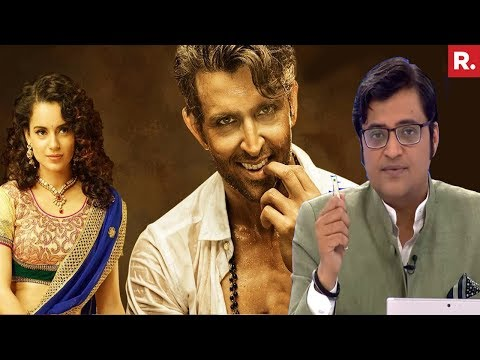 Hrithik Roshan Accuses Kangana Ranaut Of STALKING | The Debate With Arnab Goswami