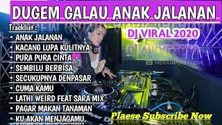 DJ ANAK JALANAN SPESIAL MIXTAPE FUNKOT LEBARAN DJ BIKIN GALAU VIRAL 2020