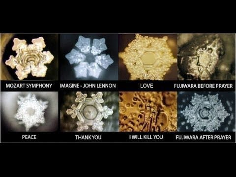 Cymatics Bliss Earth Trance The Visible Effect Of Sound In Water