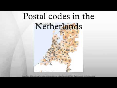 Postal codes in the Netherlands