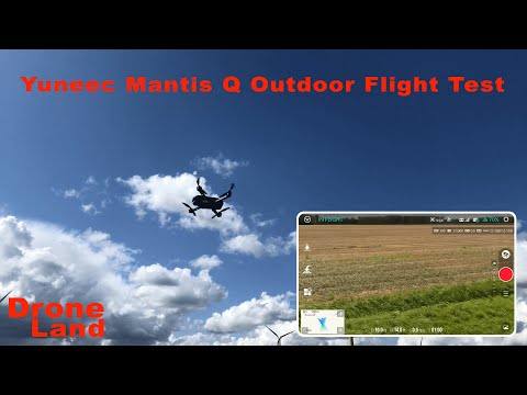 Yuneec Mantis Q Outdoor Flight Test en Review