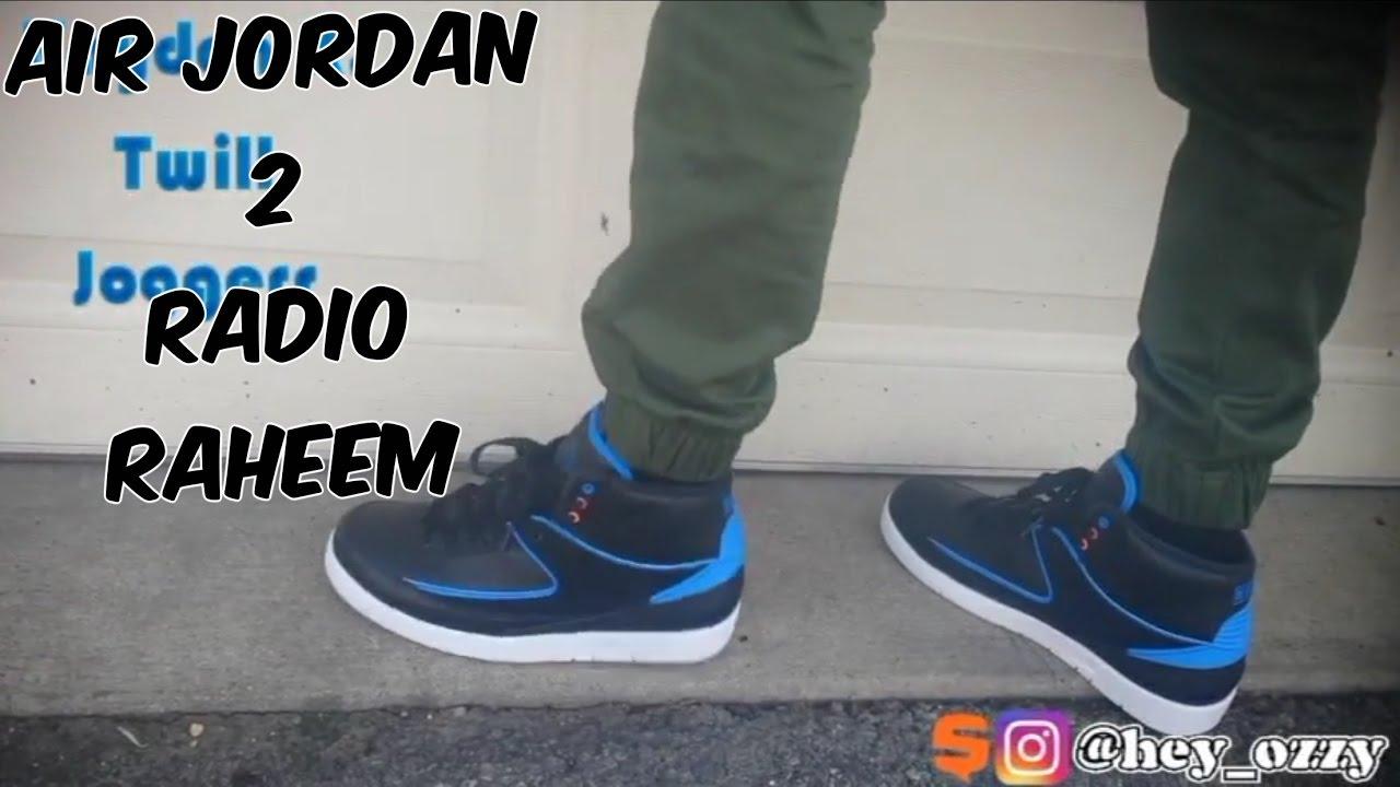 426c8791f620dd Radio Raheem Air Jordan 2 On-Feet Review - YouTube