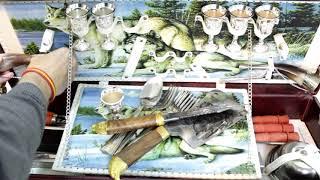 Шашлычный набор - Кавказское гостеприимство – обзор от магазина подарков «Счастливый случай»