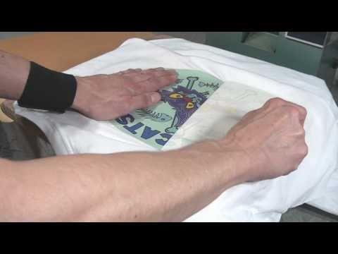 How To Heat Transfer Tee Shirts