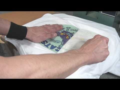 How To Heat Transfer Tee Shirts