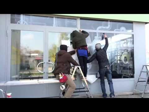 Vitrine Couleurs & Associés - Publicity Shop