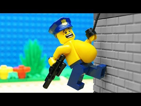 Lego Police School - Parkour Training