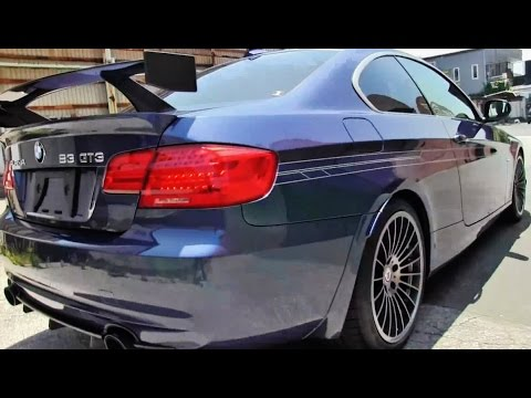 ALPINA B3 GT3 (E92) Limited to 99 units (quick look) - YouTube
