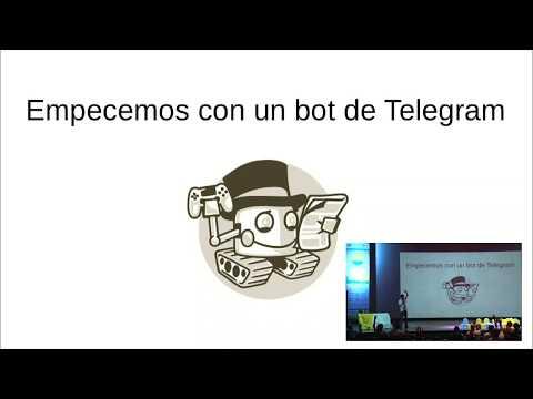 Image from Empecemos con un bot de Telegram