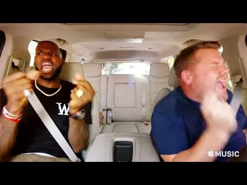 LeBron James Carpool Karaoke Without James Corden
