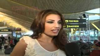 Miss España 2011 de camino a Miss Universo