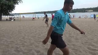 Чемпионат ЗМАМФ по пляжному футболу. Запорожпромгрупп - КПФ Выбор 2:2*