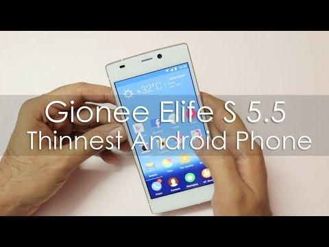 Gionee Elife S5.5 Review Videos