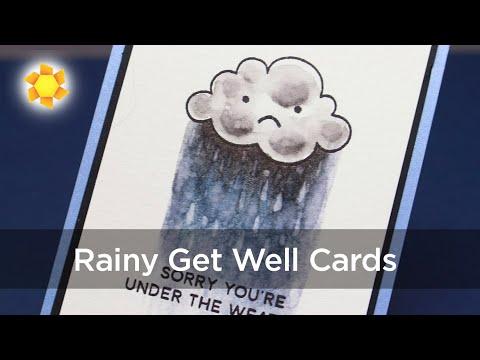 Rainy Days Get Well Cards