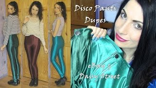 The Best AA Disco Pants Dupes | eBay and Daisy Street | Comparision