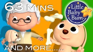 Old Mother Hubbard | And More Nursery Rhymes | From LittleBabyBum