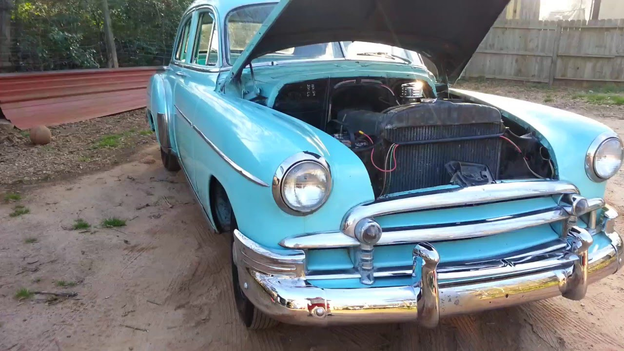 1950 chevy styleline deluxe 4 door sedan youtube for 1950 chevy styleline deluxe 4 door sedan