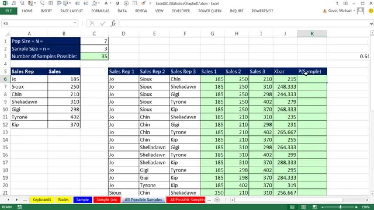 excel 2013 statistical analysis 43 simple random sampling in excel process theory youtube