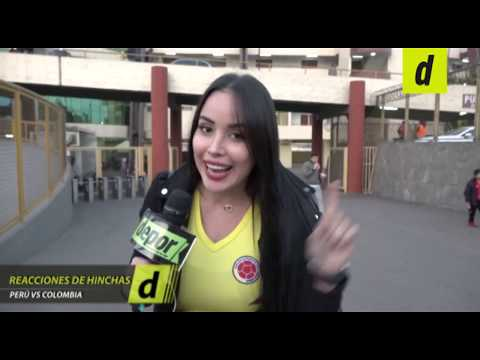 La reacción de los hinchas tras el Perú 0-3 Colombia antes de la Copa América