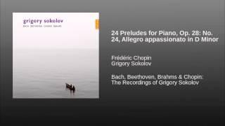 24 Preludes for Piano, Op. 28: No. 24, Allegro appassionato in D Minor