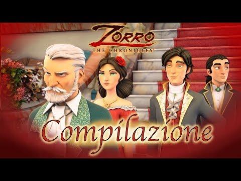 1 Ora COMPILAZIONE | Le cronache di Zorro Episodio 1 - 3 |Cartoni di supereroi