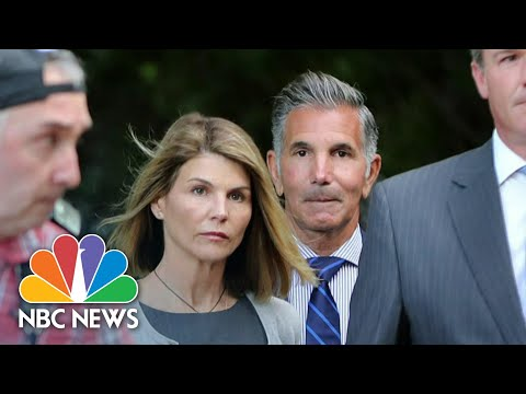 Lori Loughlin And Husband Agree To Plead Guilty In College Admissions Scandal | NBC Nightly News