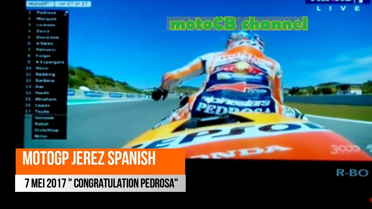 MotoGP Jerez Spanyol Malam Ini Trio Spanyol Kuasai Podium