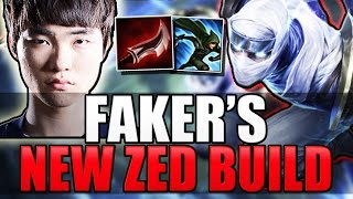 FAKER'S ZED BUILD - New Best Build? - League of Legends